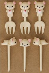 Rilakkuma-white-bear-food-picks-fork-for-Bento-Lunch-Box-171010-6